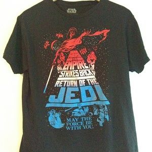 Star Wars Classic Graphic Tee Size L Unisex